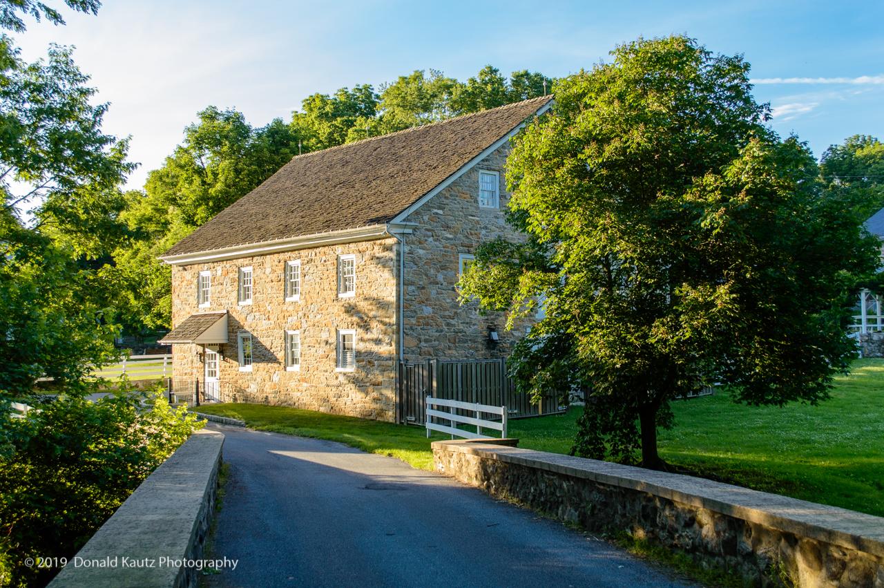 Part of the Nissley Vineyard, the Lobata mill is located on the Conoy Creek in Conoy Township. This mill was built in 1797.
