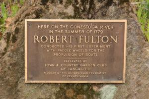 Robert Fulton plaque
