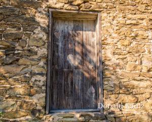 Front door of the Haldeman Mill