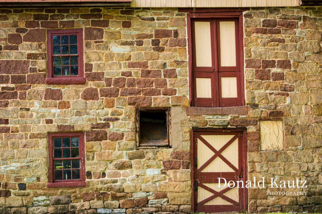 Closeup of Zartman's Mill